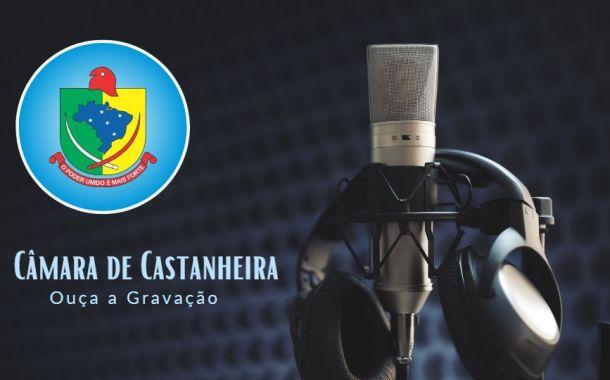 Áudio da 20ª Sessão Ordinária de 2019