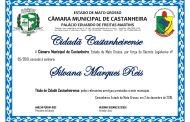 Título de Cidadã à Srª SILVANA MARQUES REIS