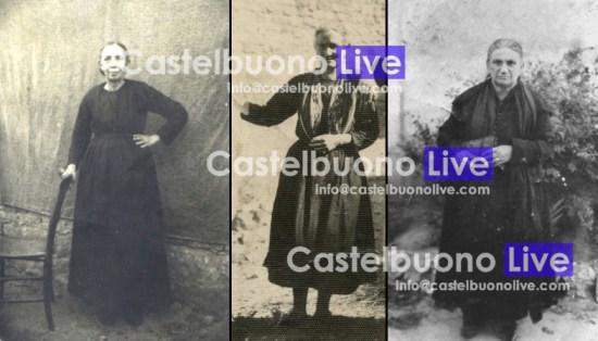Ritratte di tre popolane (gent. conc. Centropolis) il cui titolo oscilla tra zza e gna