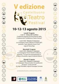 Locandina Teatro Festival