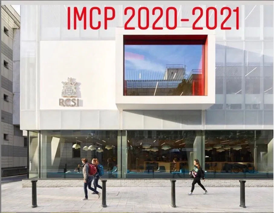 IMCP Applications 2020/2021 Now Open