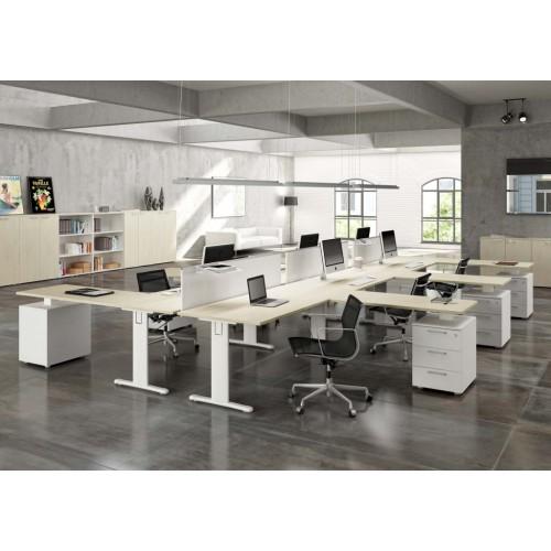 Scopri i mobili per ufficio, anche per l'arredo dello studio medico o. Tavoli E Scrivanie Da Ufficio Arredamenti Completi Da Ufficio Castellani Shop
