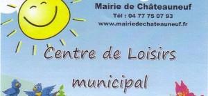 centre de loisirs châteauneuf loire 2016