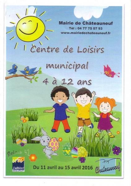 centre de loisirs châteauneuf loire 2016 page 1