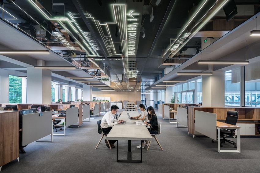 Cu l es el mejor tipo de iluminaci n en una oficina blog for Distribucion de oficinas modernas