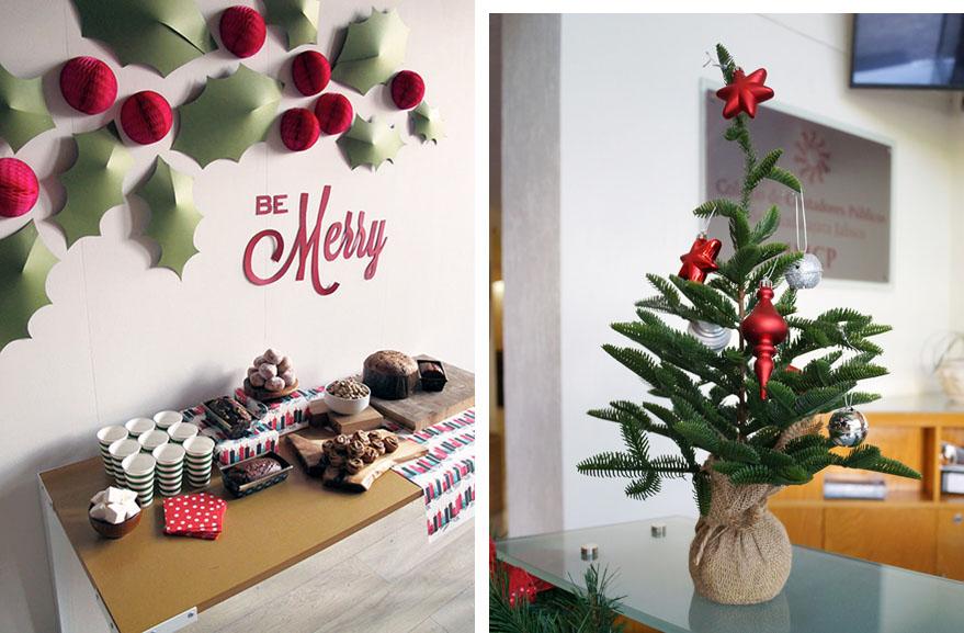 Adornos oficina navidad blog castilla sa - Decoracion de navidad para oficina ...
