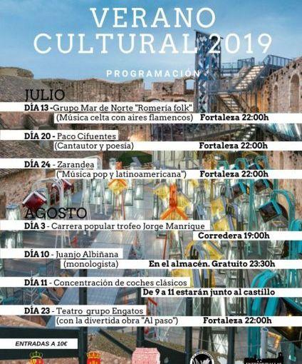 Veranos culturales 2019