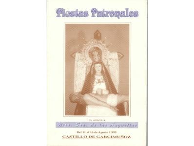Programa de Fiestas año 1995
