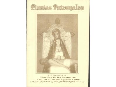 Programa de Fiestas año 1996