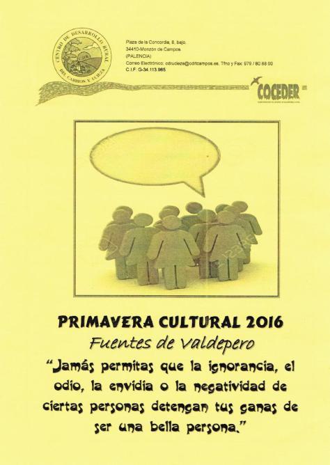 Primavera cultural 2016