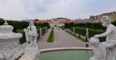 promenade à vienne - Belvedere