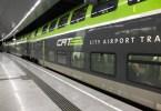 CAT city airport train à Vienne