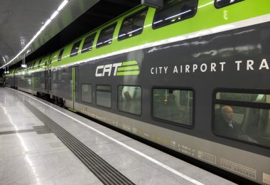 CAT city airport train à Vienne