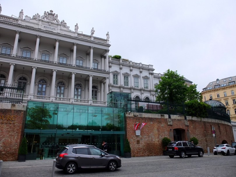 promenade à vienne - palais coburg