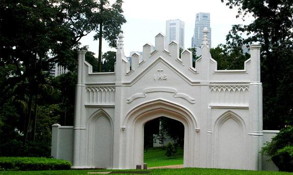 fort canning park Singapour