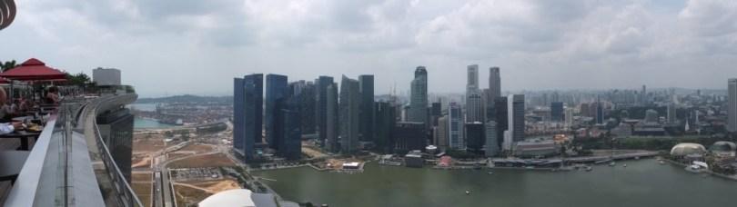Marina Bay Sands Singapour - panoramique