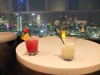 Marina Bay Sands Singapour - restaurant Sky on 57