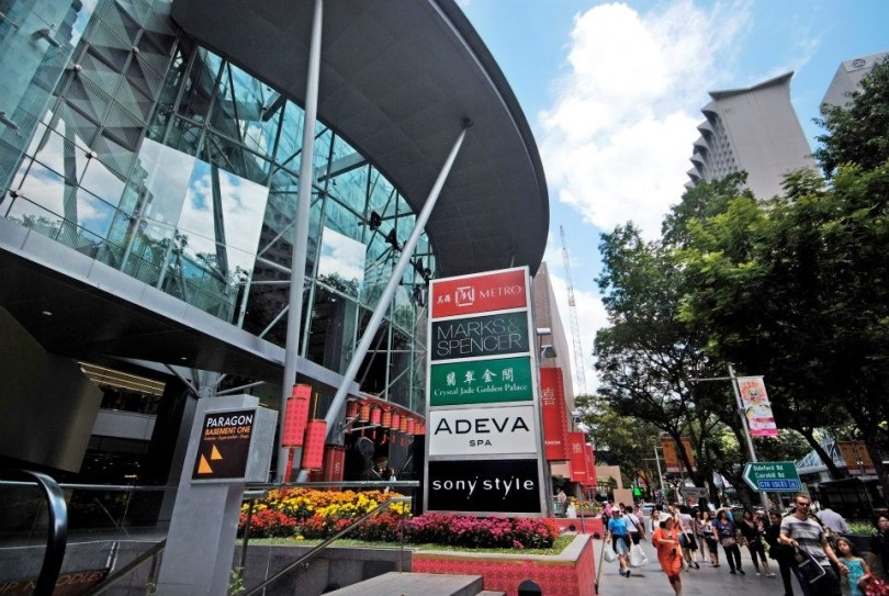 orchard road Singapour