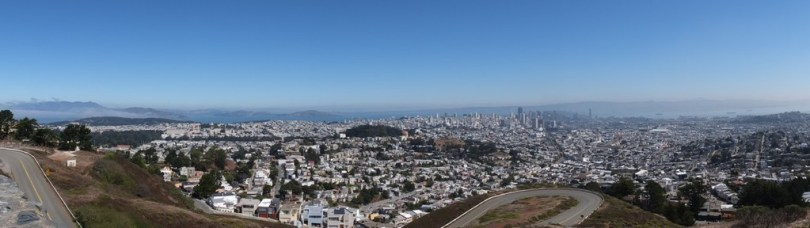 USA San Francisco - panoramique