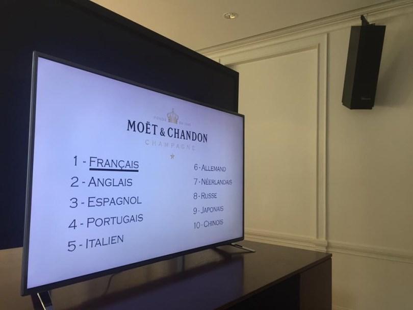Champagne Moet & Chandon : Video