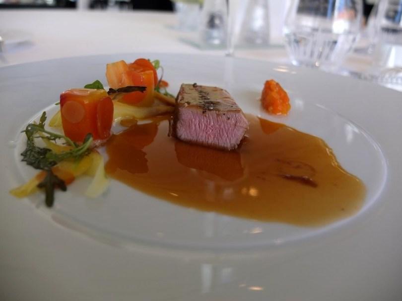 Restaurant Villa Rene Lalique - Agneau