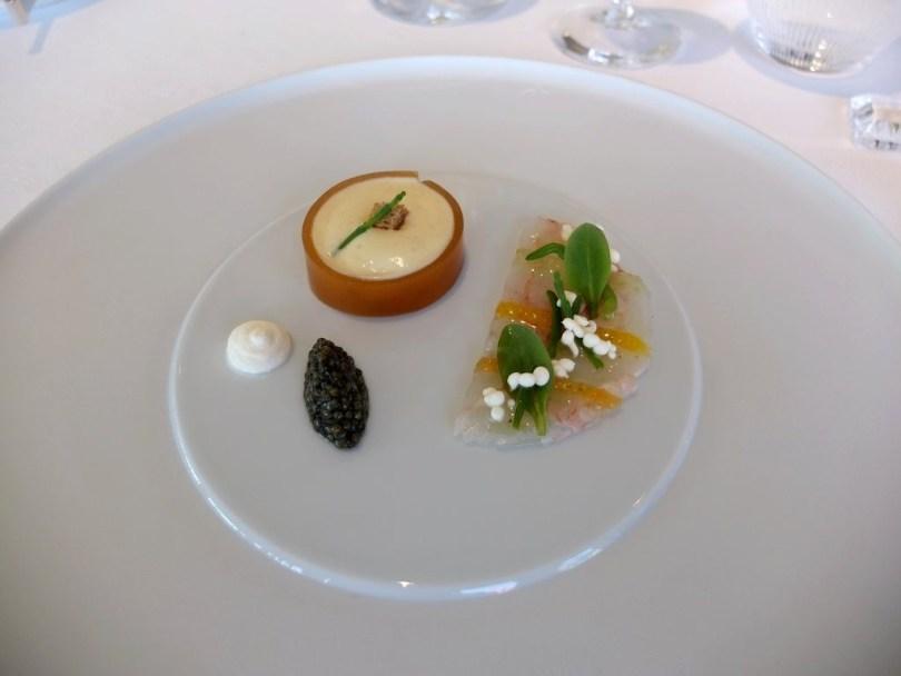 Restaurant Villa Rene Lalique - Langoustines