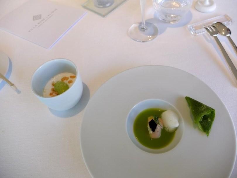 Restaurant Villa Rene Lalique - Petit pois