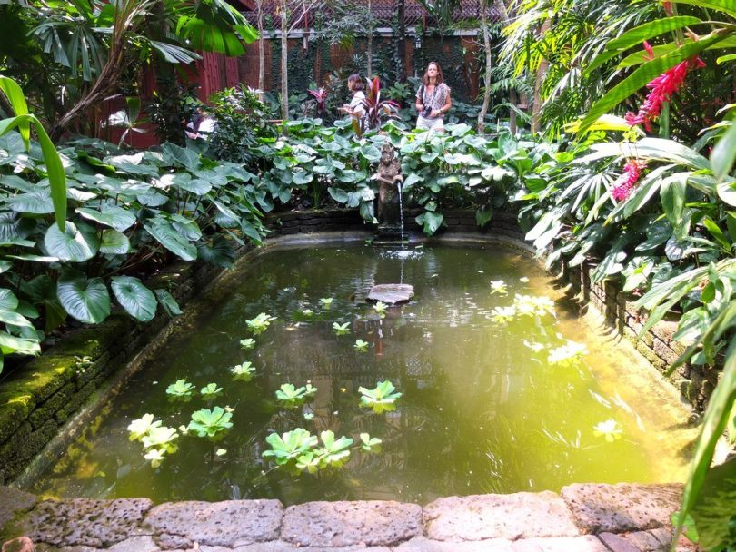 Jim Thompson House - jardin