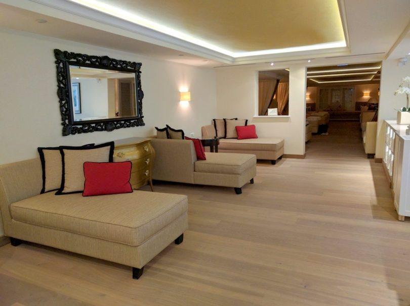 Hotel Bareiss Schwarzwald - espace sauna / zone de repos