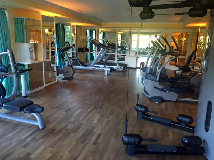Hotel Bareiss Schwarzwald - salle fitness