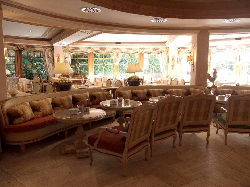 Hotel Bareiss Schwarzwald - salle de restaurant