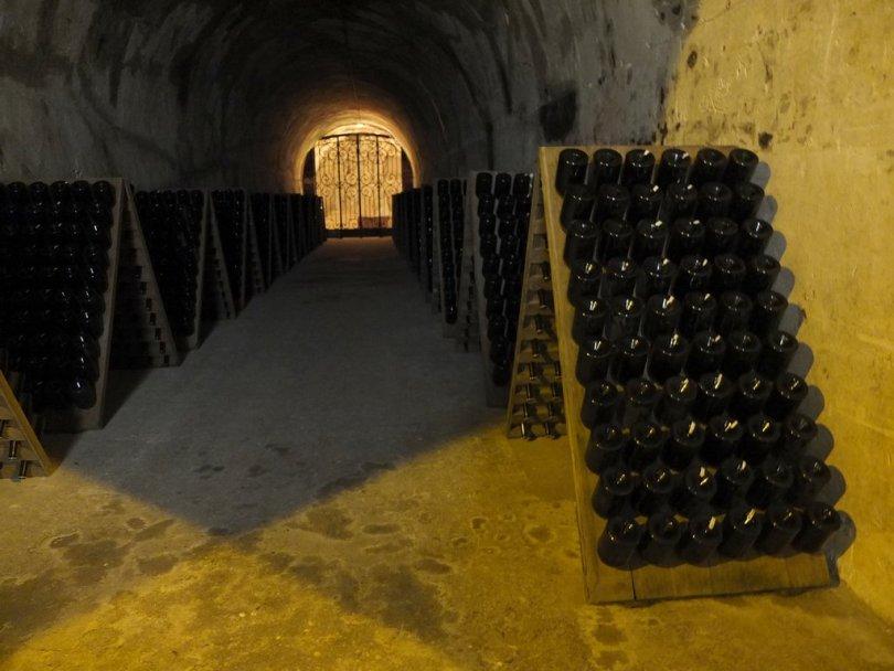 Champagne Taittinger - visite de la cave