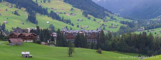 Vue panoramique sur l'Alpina - The Alpina Gstaad