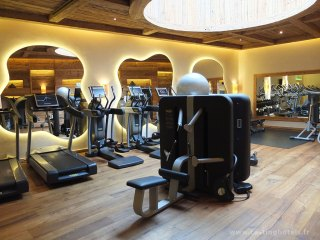 salle Fitness - The Alpina Gstaad