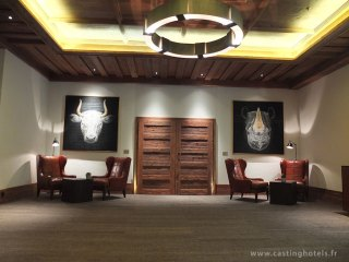 Lobby / reception - The Alpina Gstaad