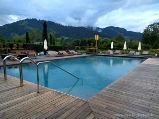 Spa 6 senses / piscine extérieure - The Alpina Gstaad