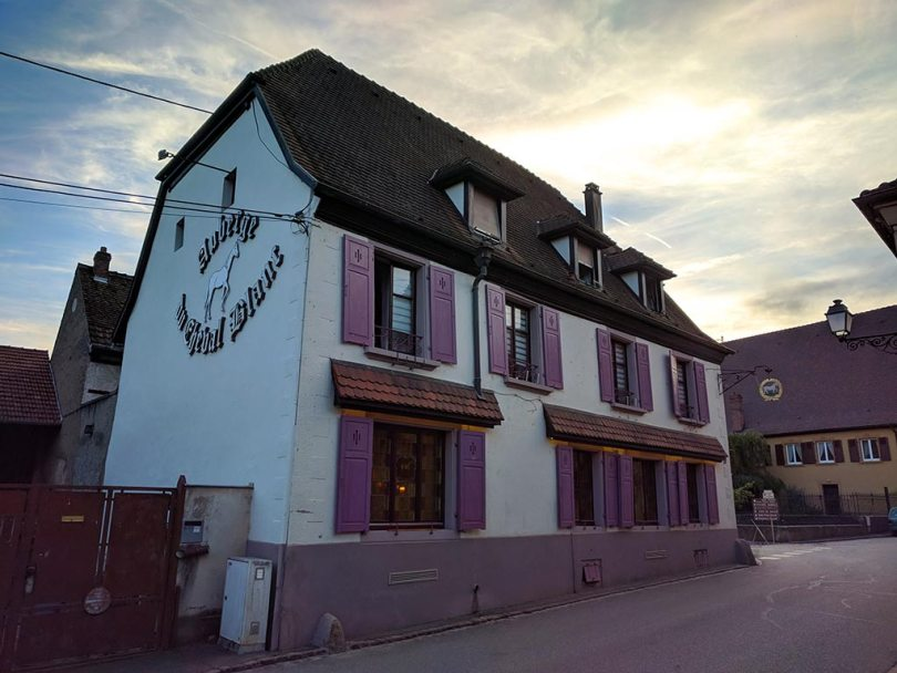Restaurant Koehler auberge du cheval blanc à Westhalten - extérieur