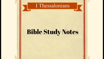 Permalink to: I Thessalonians  Bible Study