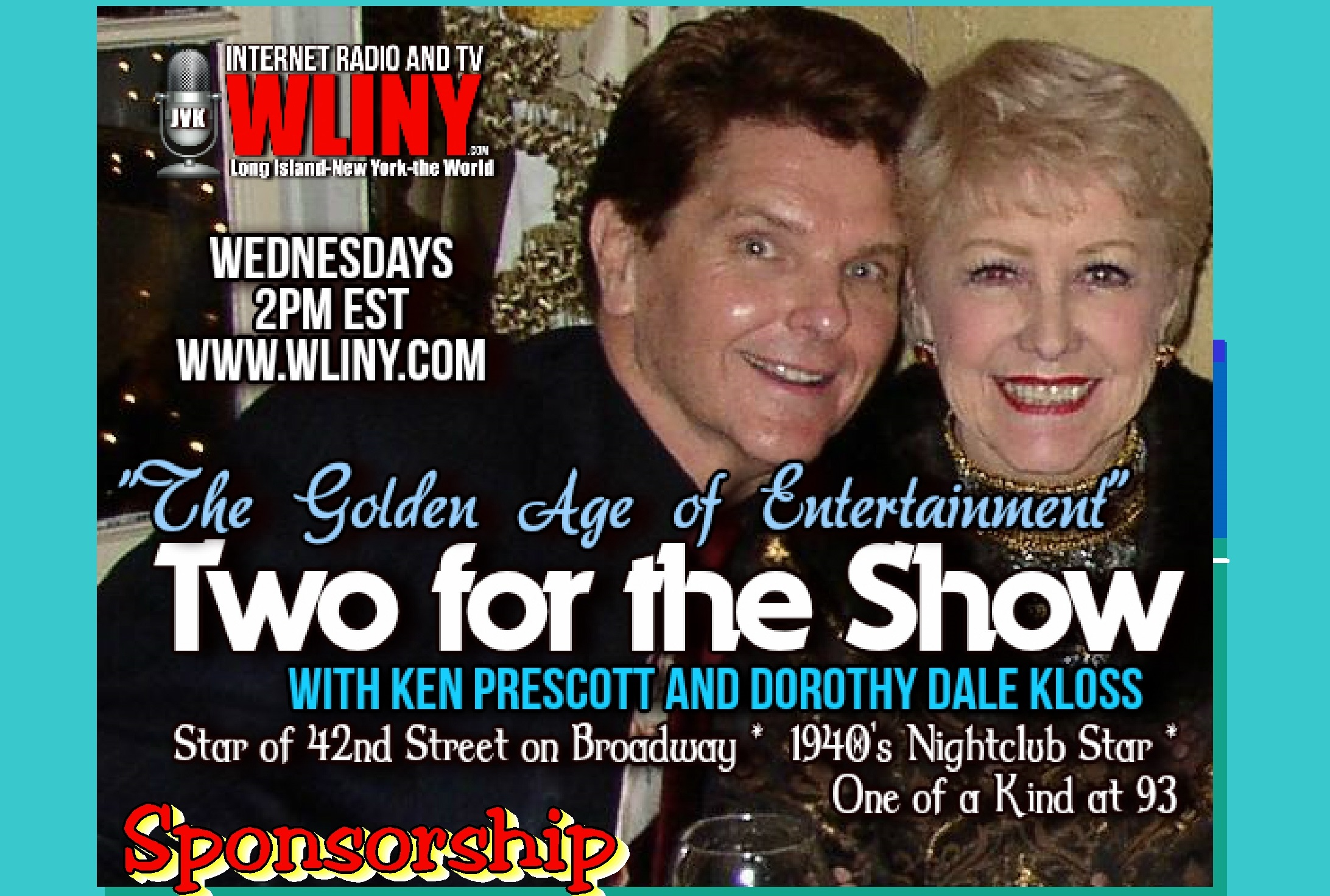 Dorothy Dale Kloss, Ken Prescott, Two For the Show Radio,