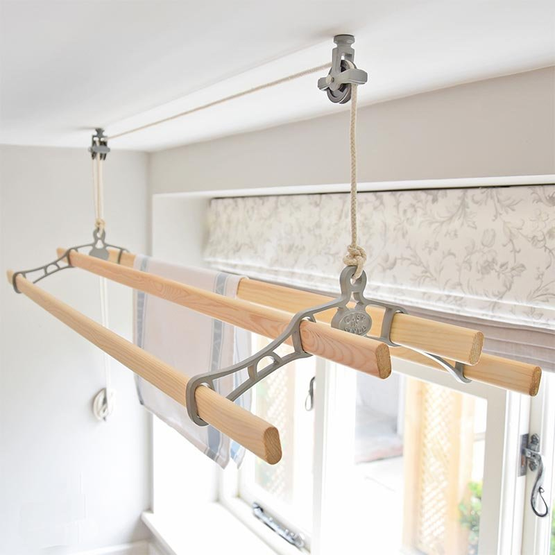 Ceiling Mounted Clothes Line Airers Www Energywarden Net