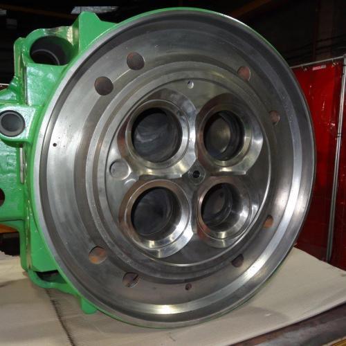 Wartsila 46 Cylinder Head Valve seat pocket repairs