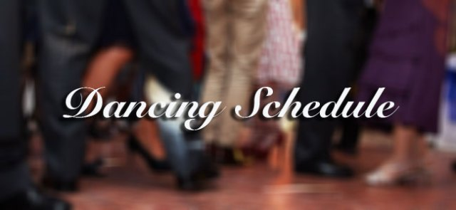 Castle Arms Hotel - Dancing Timetable