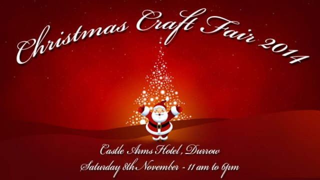 Christmas Craft Fair At Castle Arms Hotel