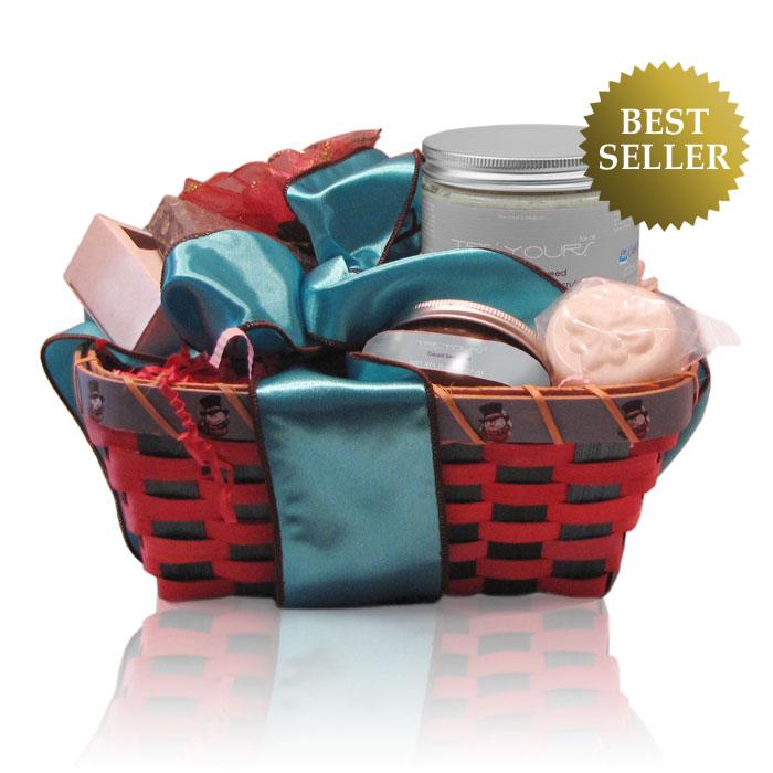 Anti Aging Spa Gift Basket Dea Sea Mud Scrub Soaps