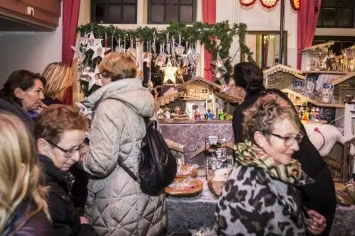 Kerstmarkt Castle Christmas Fair te Heemskerk