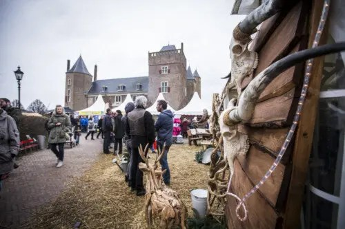 Kerstmarkt Castle Christmas Fair op Slot Assumburg