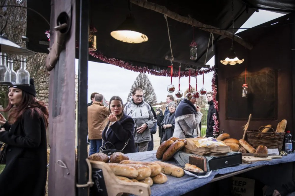 Vers Brood op Castle Christmas Fair te Heemskerk