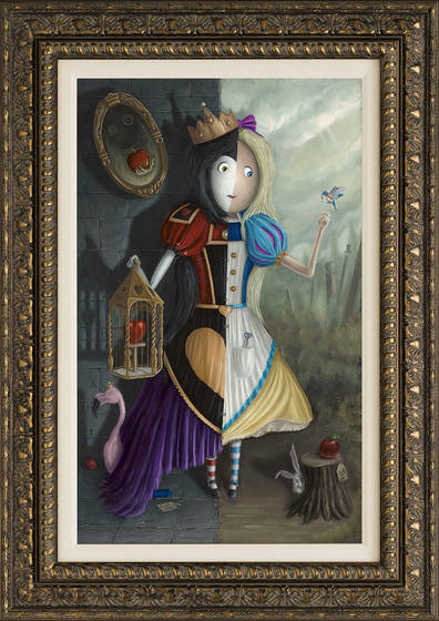 Mirror Mirror On The Wall Who S The Fairest Of Them All Peter Smith Castle Fine Art