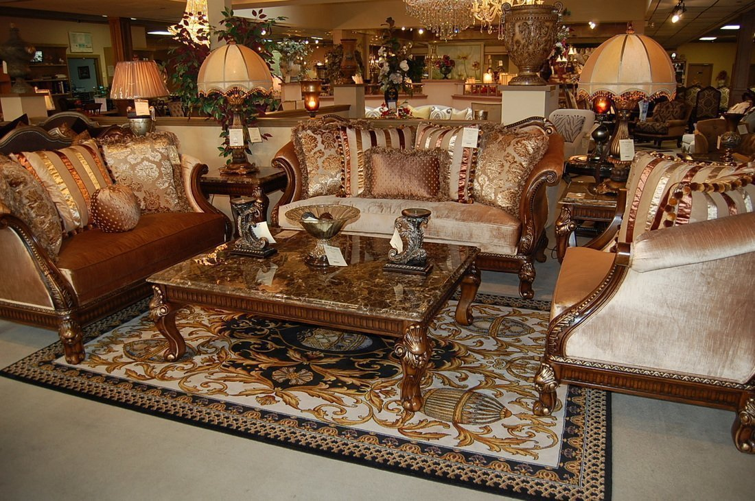 Fabric Living Room Castle Fine Furniture