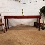 Antique Victorian Mahogany Long Narrow Console Table C1880 565816 Www Castleforgeantiques Co Uk